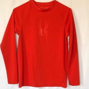 Other - Spyder boys embossed thermal long sleeve shirt Lg